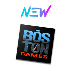 Boston Games Cityscape Sticker